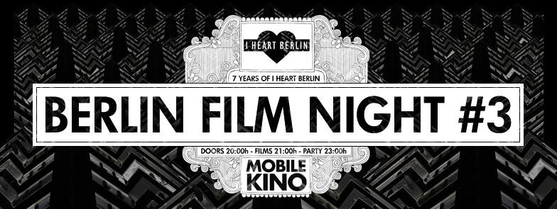 Berlin Film Night Banner