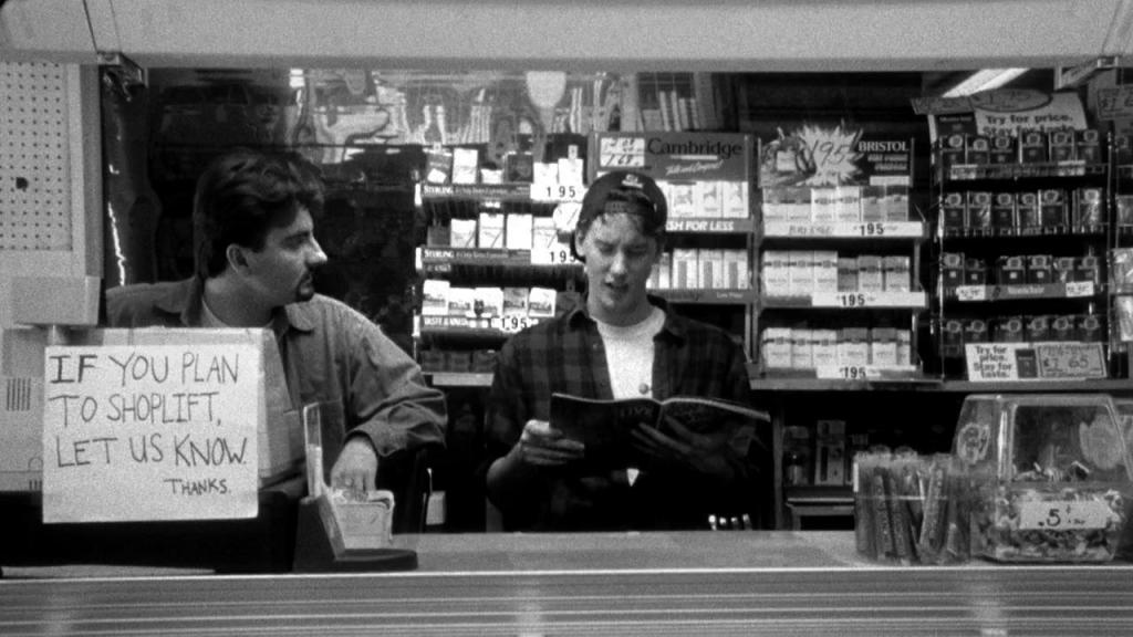Wednesday 13.12.17 – 8:30pm: Smoking Cinema | Clerks