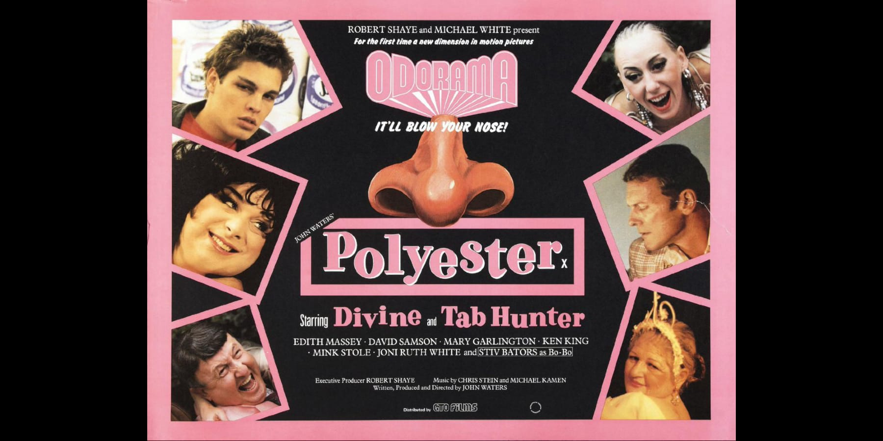 Monday 01.04.19. – 8pm: Odorama | Polyester – A John Waters Film