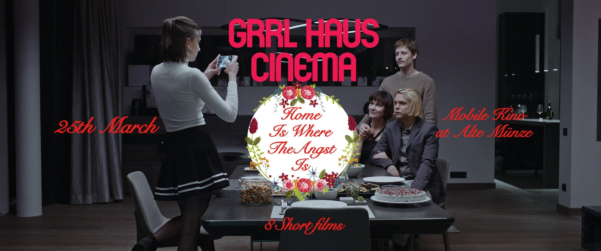 Wednesday 29.04.20 – 8:30pm: Home Is Where The Angst Is / GRRL HAUS