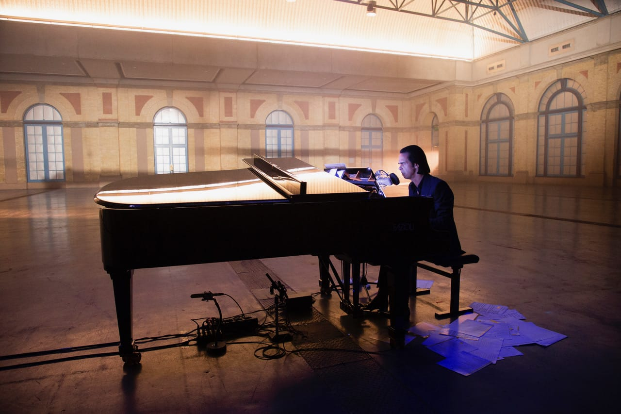 Thursday 14.01.21 – 20:00   Idiot Prayer – Nick Cave Alone At Alexandra Palace // POSTPONED