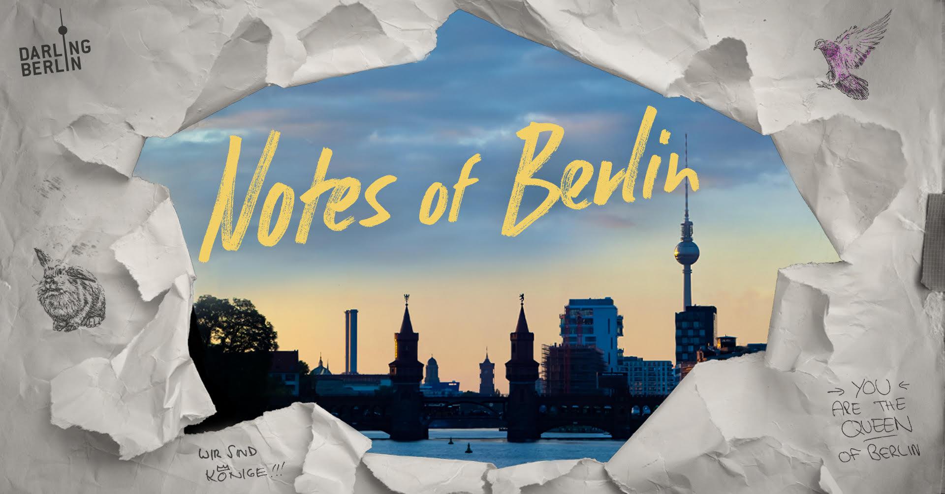 Saturday 3.07.21 – 21:45: Kiezkino Charlottenburg: Notes of Berlin I Open Air Preview